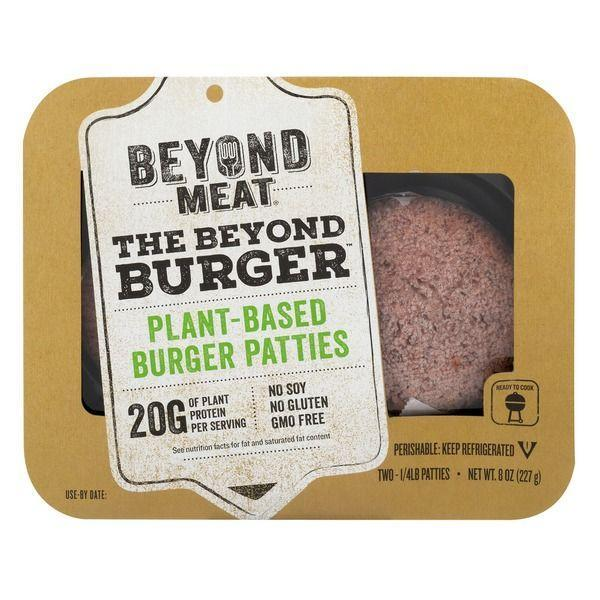 """<p><a class=""""link rapid-noclick-resp"""" href=""""https://www.amazon.com/Beyond-Meat-Burger-PARENT-Frozen/dp/B07Q5V46T1/ref=sr_1_1?th=1&tag=syn-yahoo-20&ascsubtag=%5Bartid%7C1782.g.22559891%5Bsrc%7Cyahoo-us"""" rel=""""nofollow noopener"""" target=""""_blank"""" data-ylk=""""slk:BUY NOW"""">BUY NOW</a></p><p>The day they <a href=""""https://www.instacart.com/whole-foods/products/3342895-beyond-meat-the-beyond-burger-8-0-oz"""" rel=""""nofollow noopener"""" target=""""_blank"""" data-ylk=""""slk:came"""" class=""""link rapid-noclick-resp"""">came</a> to Whole Foods, the world was forever changed. </p>"""