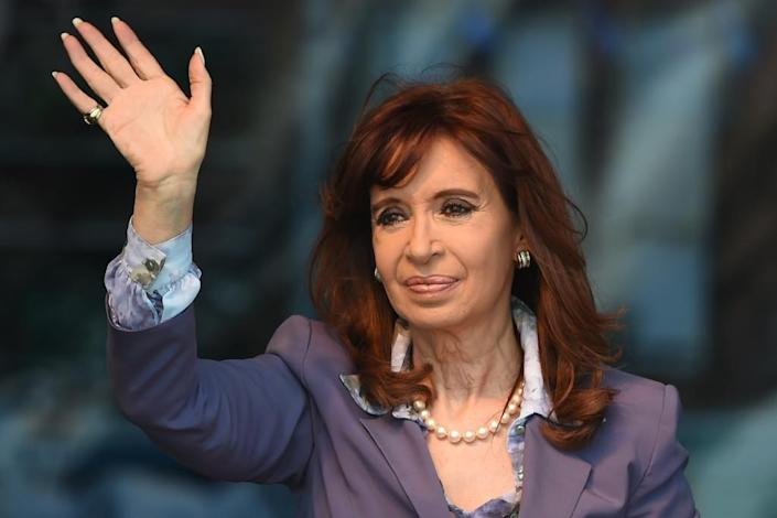 Argentina has been under left-wing rule for 12 years with power couple Nestor and Cristina Kirchner (pictured) (AFP Photo/Eitan Abramovich)