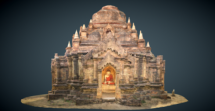 Located in Myanmar, the ancient city of <strong>Bagan</strong> once housed over 10,000 structures and was the center of the Pagan Empire.