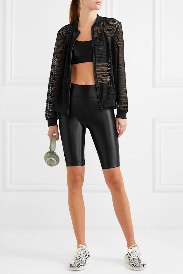 """<p><strong>High Shine Bike Shorts</strong></p><p>net-a-porter.com</p><p><strong>$65.00</strong></p><p><a href=""""https://go.redirectingat.com?id=74968X1596630&url=https%3A%2F%2Fwww.net-a-porter.com%2Fus%2Fen%2Fproduct%2F1128418&sref=http%3A%2F%2Fwww.harpersbazaar.com%2Ffashion%2Ftrends%2Fg5680%2Fnew-activewear-workout-brands%2F"""" target=""""_blank"""">Shop Now</a></p><p>Koral's gym gear is meant for the woman who loves fashion just as much as she loves to sweat. With faux leather workout pants, mesh tops, and on-trend bike shorts, Koral will land you on the best dressed list at the gym (which is, of course, just as important as the workout itself).</p>"""