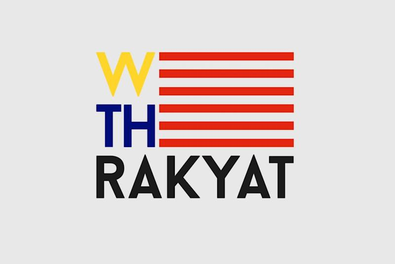 The logo of 'We the Rakyat', which takes inspiration from our beloved Jalur Gemilang. — Picture from Facebook/WeTheRakyat