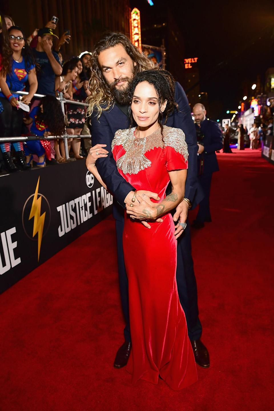 The newly married couple walked their first joint red carpet together since their nuptials.