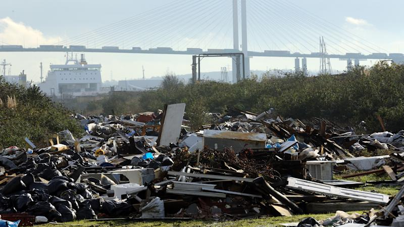 Nobody convicted of fly-tipping since new guidelines in 2014 has been given the maximum fine or prison time, the Local Government Association said.