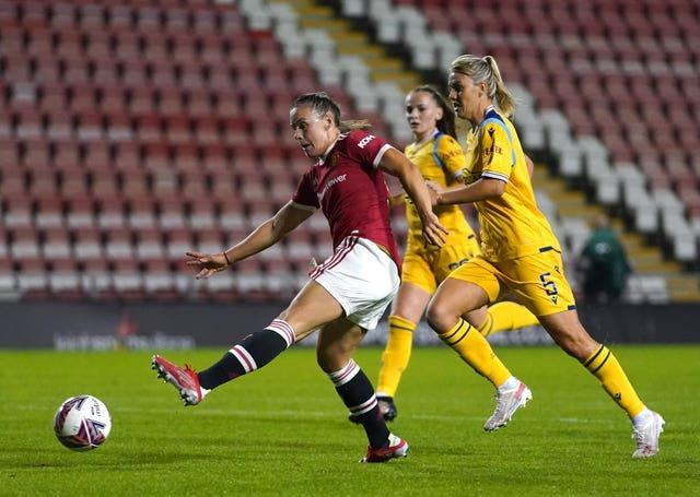 Kirsty Hanson fired United ahead