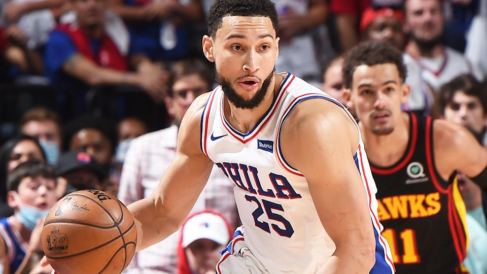 Ben Simmons has to refine many aspects of his game after a dismal game seven performance against the Atlanta Hawks. (Photo by David Dow/NBAE via Getty Images)