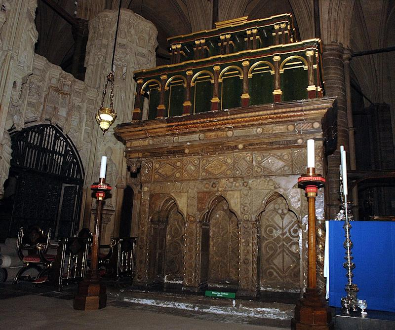 The remains of the shrine to which Henry translated the relics of of St Edward the Confessor - BRIAN SMITH