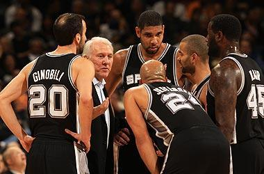 Gregg Popovich, now in his 15th season as the Spurs' coach, has guided the franchise to four championships. The Spurs' most recent title came in 2007