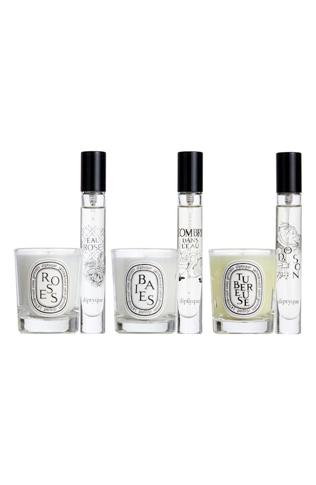 "<p><strong>Diptyque</strong></p><p>nordstrom.com</p><p><strong>$54.00</strong></p><p><a href=""https://go.redirectingat.com?id=74968X1596630&url=https%3A%2F%2Fshop.nordstrom.com%2Fs%2Fdiptyque-floral-candle-eau-de-toilette-set-105-value%2F5267360&sref=https%3A%2F%2Fwww.housebeautiful.com%2Fshopping%2Fbest-stores%2Fg31752361%2Fnordstrom-sale-march-2020%2F"" target=""_blank"">BUY NOW</a></p><p>It's rare to find Diptyque candles on sale, but you can score this set of small candles and perfumes for just $54. It's a Nordstrom exclusive that typically retails for $72, but actually has a $105 value.  </p>"