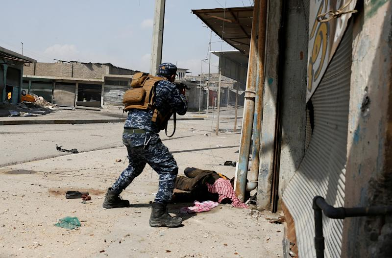 Iraq Mosul security forces soldiers troops killed wounded victims