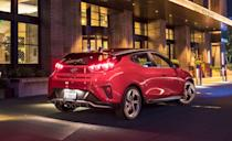 """<p>The <a href=""""https://www.caranddriver.com/features/g15379302/best-small-compact-cars/"""" rel=""""nofollow noopener"""" target=""""_blank"""" data-ylk=""""slk:compact-car segment"""" class=""""link rapid-noclick-resp"""">compact-car segment</a> loses another player to team SUV. Hyundai's beloved three-door hatchback is outta here. Although one of the<a href=""""https://www.caranddriver.com/features/g34908888/10-cheapest-new-cars-for-2021/"""" rel=""""nofollow noopener"""" target=""""_blank"""" data-ylk=""""slk:cheapest cars sold today"""" class=""""link rapid-noclick-resp""""> cheapest cars sold today</a> is leaving us, the 275-hp <a href=""""https://www.caranddriver.com/hyundai/veloster-n"""" rel=""""nofollow noopener"""" target=""""_blank"""" data-ylk=""""slk:Veloster N"""" class=""""link rapid-noclick-resp"""">Veloster N</a> lives on (at least for another year) while the Korean automaker shifts focus to its more popular <a href=""""https://www.caranddriver.com/hyundai/kona"""" rel=""""nofollow noopener"""" target=""""_blank"""" data-ylk=""""slk:Kona"""" class=""""link rapid-noclick-resp"""">Kona</a> and <a href=""""https://www.caranddriver.com/hyundai/venue"""" rel=""""nofollow noopener"""" target=""""_blank"""" data-ylk=""""slk:Venue"""" class=""""link rapid-noclick-resp"""">Venue</a> SUVs. And we'll remind you that the Veloster N, equipped with the eight-speed dual-clutch transmission <a href=""""https://www.caranddriver.com/reviews/a35031677/2021-hyundai-veloster-n-by-the-numbers/"""" rel=""""nofollow noopener"""" target=""""_blank"""" data-ylk=""""slk:we tested last year"""" class=""""link rapid-noclick-resp"""">we tested last year</a>, was the <a href=""""https://www.caranddriver.com/features/g22025438/fastest-front-wheel-drive-cars/"""" rel=""""nofollow noopener"""" target=""""_blank"""" data-ylk=""""slk:second-quickest front-wheel-drive car we've ever tested"""" class=""""link rapid-noclick-resp"""">second-quickest front-wheel-drive car we've ever tested</a>. Just 2205 Velosters have been sold in the first six months of 2021. That pales in comparison to current Kona sales at 50,996. The Venue has moved 15,050 units, outselling the Accent and the Ioniq. Now"""
