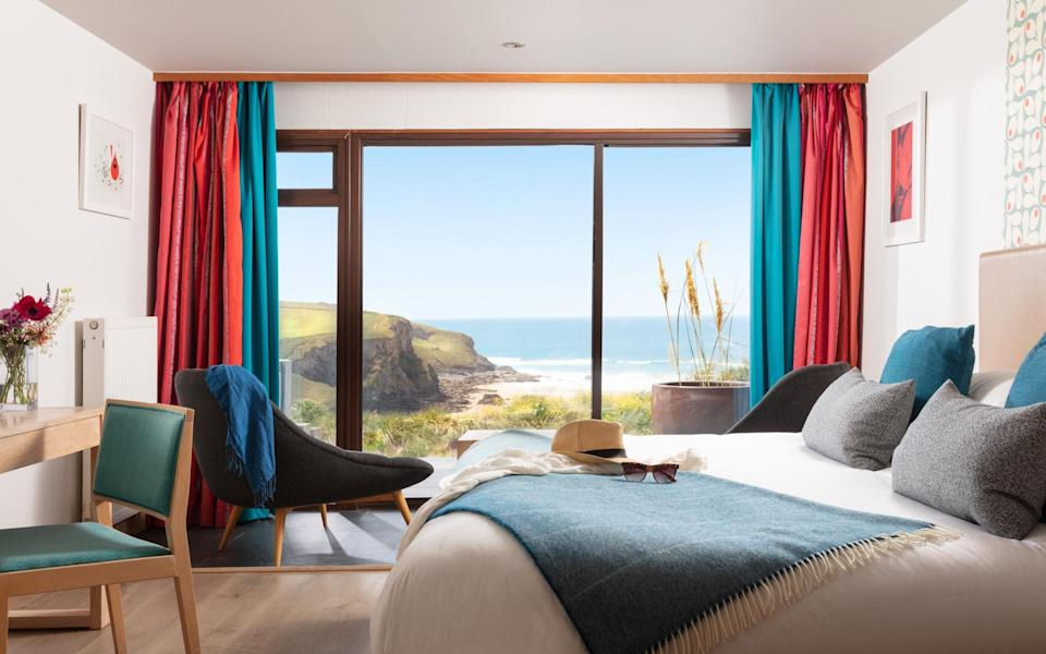 One of the top rooms at Bedruthan - ELLIOTT WHITE