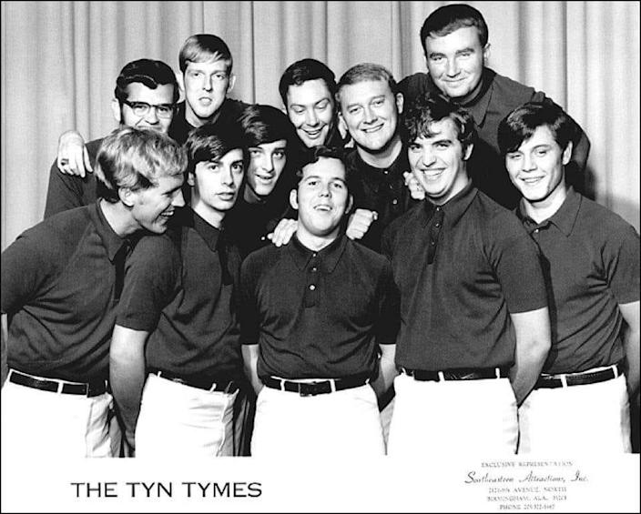 The original 10 members of The Tyn Tymes when the group first formed in 1966.