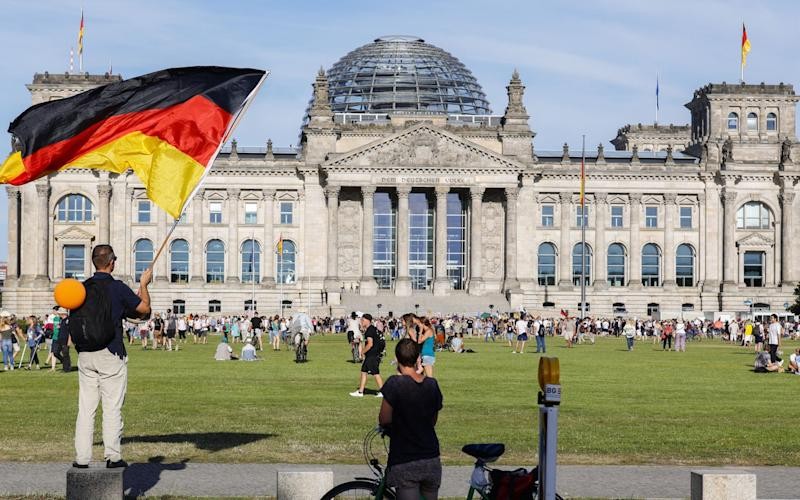 Germany is 'already contending with a second wave',the head of the German doctors' union has said - FELIPE TRUEBA/EPA-EFE/Shutterstock