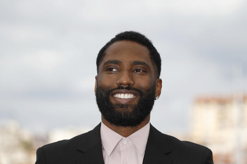"71st Cannes Film Festival - Photocall for the film ""BlacKkKlansman"" in competition - Cannes, France, May 15, 2018. Cast member John David Washington. REUTERS/Eric Gaillard"