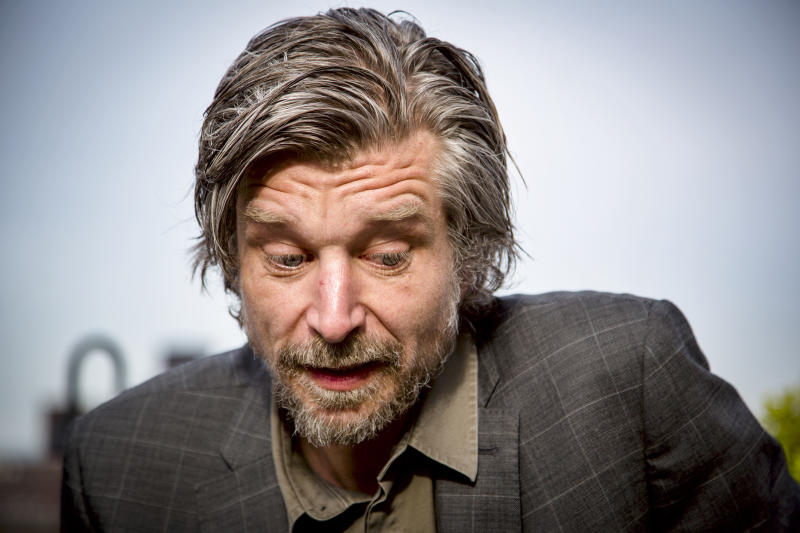 "The Norwegian writer Karl Ove Knausgård, a literary phenomenon in Scandinavia, has received good reviews for the english translation of the first book of his six volume autobiography ""My Struggle"". The Norwegian title of the book is Min Kamp, the same as Hitler's Mein Kampf, and the six books total well over 3500 pages. (Photo by Orjan F. Ellingvag/Corbis via Getty Images)"
