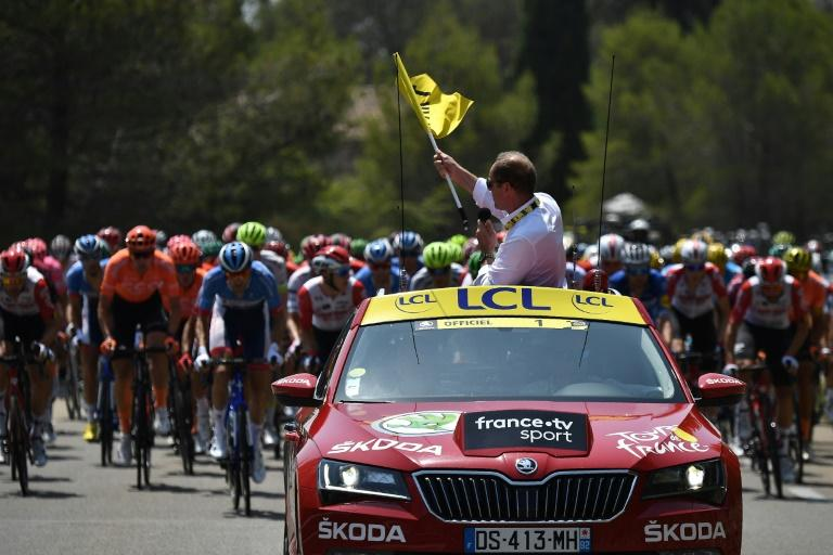 Christian Prudhomme is keeping mum on when he might start this year's Tour de France