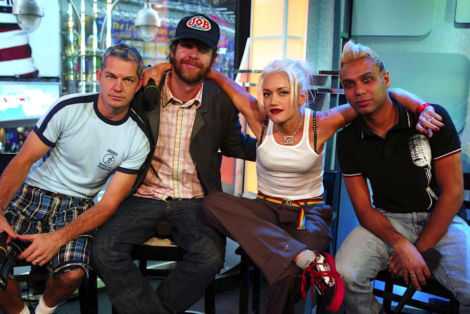 <p>No Doubt stopped by <b>TRL</b> to perform in 2002.</p>