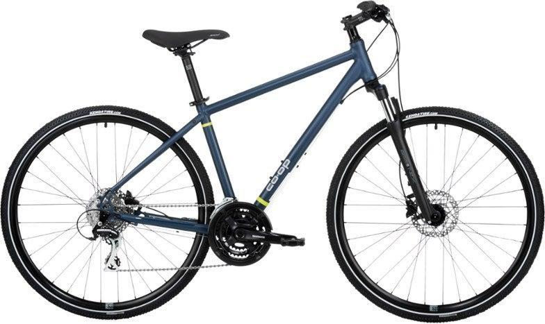 "<h3>Co-op Cycles CTY 2.1 Bike</h3> <br><strong>Best For: All-Purpose Biking</strong><br>This hybrid bike is designed to take you to work, but can also comfortably handle longer weekend rides on paved or gravel paths. Features like hydraulic disk brakes and shock absorbers help it navigate potholes and bumpy rounds with ease.<br><br><strong>Good To Know</strong>: Co-Op is REI's store brand and offers value-driven options that still meet their standards. <br><br><strong>What Happy Bikers Say:</strong> ""I've had this bike for a month. I use it for my short commute to work every day. It is perfect for the mix of potholed streets and gravel trail... I've taken a couple of longer rides with it also and it was comfortable and responsive.""<a href=""https://www.rei.com/product/109675/co-op-cycles-cty-21-bike#product-reviews"" rel=""nofollow noopener"" target=""_blank"" data-ylk=""slk:"" class=""link rapid-noclick-resp""><br></a><br><br><strong>Co-op Cycles</strong> CTY 2.1 Bike, $, available at <a href=""https://go.skimresources.com/?id=30283X879131&url=https%3A%2F%2Fwww.rei.com%2Fproduct%2F109675%2Fco-op-cycles-cty-21-bike"" rel=""nofollow noopener"" target=""_blank"" data-ylk=""slk:REI"" class=""link rapid-noclick-resp"">REI</a><br><br><br><br><br><br>"