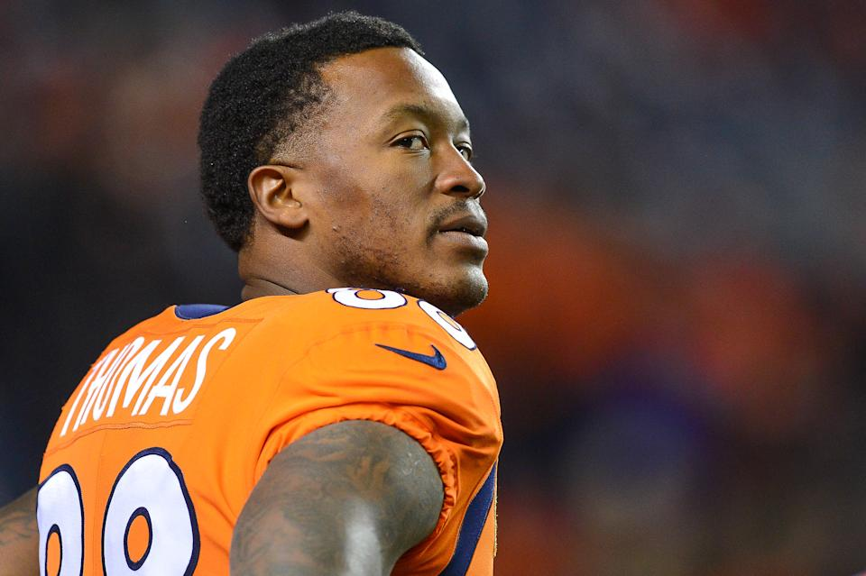 Few receivers could match Demaryius Thomas' production at his peak. (Dustin Bradford/Getty Images)