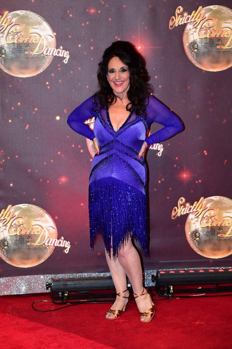 Lesley Joseph feels like she was hired to be the old comical woman on Strictly Come Dancing (PA)