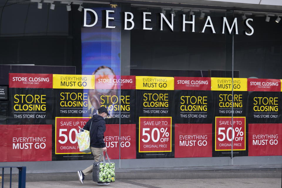 Debenhams is just one high street casualty. (Mike Kemp/In Pictures via Getty Images)