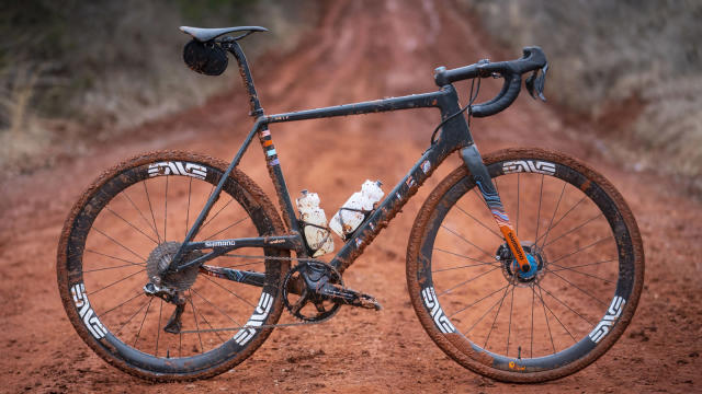 Colin Strickland's Allied Able gravel bike