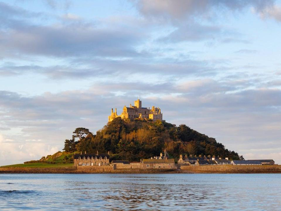 St Michael's Mount in Cornwall (Getty Images)
