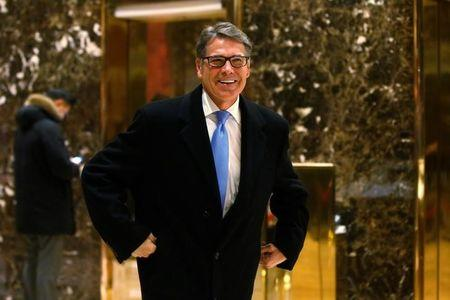 From 'oops' to DOE chief; Rick Perry is pick for Energy