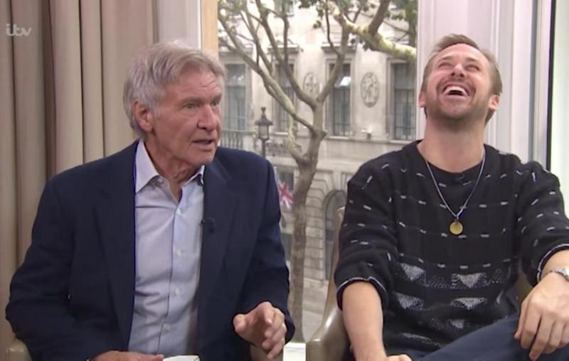 Harrison Ford joked he only signed onto the film because of the money which left his co-star in hysterics. Source: ITV / This Morning