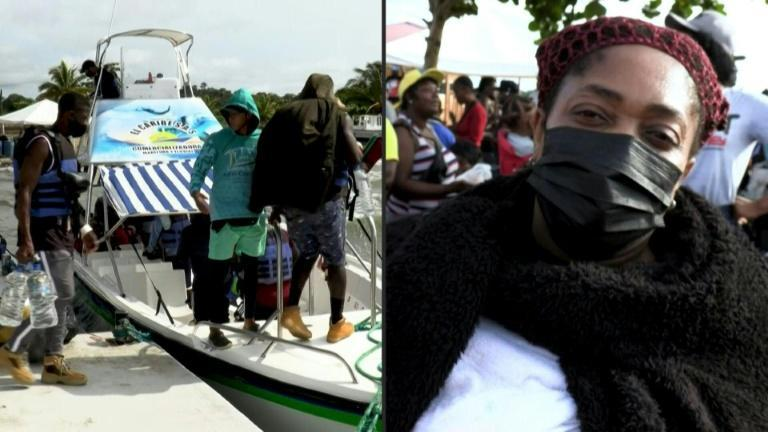 """""""Not going to stop"""": Haitian migrants in Colombia determined to reach US (AFP/Juan RESTREPO, Raul ARBOLEDA)"""