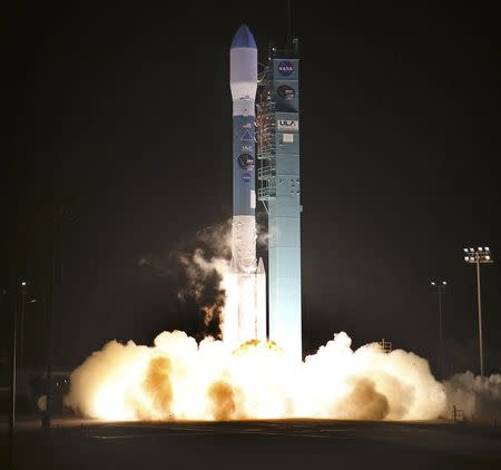 File photo of United Launch Alliance rocket launching from Vandenberg Air Force Base in California