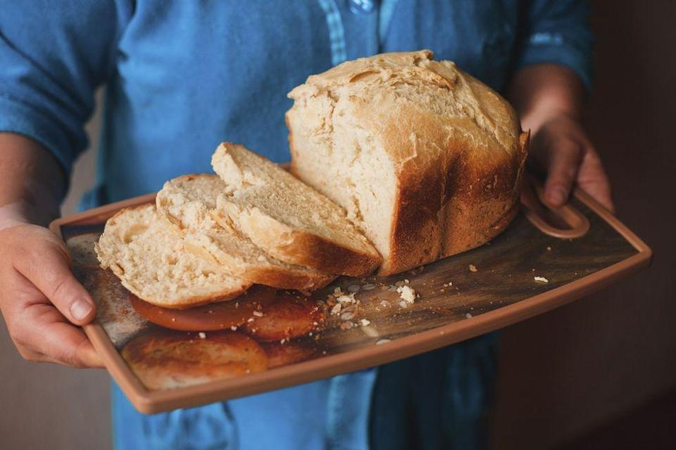 """<p>Many people in the health community wouldn't even consider eating a slice of white bread—it can sometimes seem like it's whole wheat, multi-grain, or bust. But if you eat the right kind of white bread, it's not going to set you back. """"Typical grocery store white bread doesn't really have any nutritional benefits since the process of making it involves white flour, which only uses the endosperm of the wheat,"""" Dr. Schwartz explains. </p><p> His solution for those who prefer white bread? Make it yourself: """"This way you can control the ingredients that go in and don't need to worry about putting in additives that companies use which increases shelf-life and creates a fluffy consistency."""" </p>"""