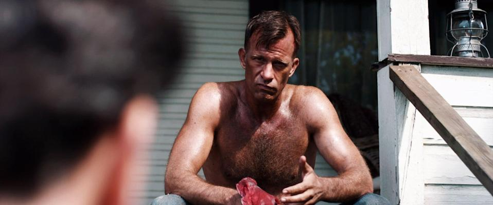 "<p>Another film based on a Stephen King book, <strong>1922</strong> stars Thomas Jane as a farmer who confesses to the murder of his wife. But that's just putting it lightly.</p> <p><a href=""http://www.netflix.com/title/80135164"" class=""link rapid-noclick-resp"" rel=""nofollow noopener"" target=""_blank"" data-ylk=""slk:Watch 1922 on Netflix now"">Watch <strong>1922</strong> on Netflix now</a>.</p>"