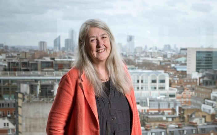 "Mary Beard: ""The script has been discarded, which is what is causing so much foreboding"" - Geoff pugh for The Telegraph"