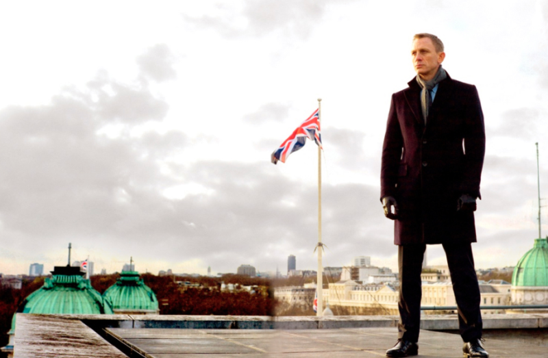 Daniel Craig as James Bond in 2012's Skyfall. (Sony Pictures)