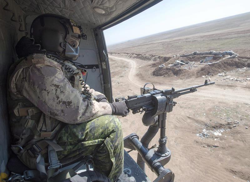 Canadian military resumes some operations in Iraq following Iran scare