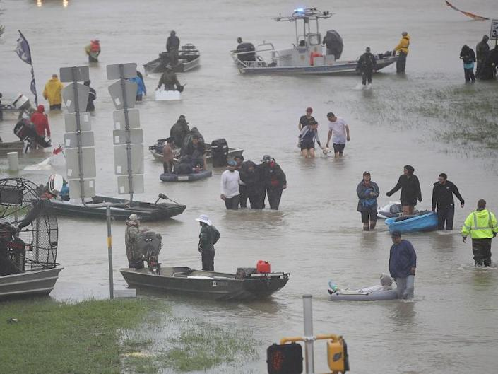 Texans deserve Hurricane Harvey because they voted for Donald Trump, Florida professor says