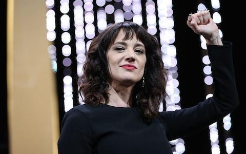 <span>Asia Argento at the Cannes film festival</span> <span>Credit: AFP </span>