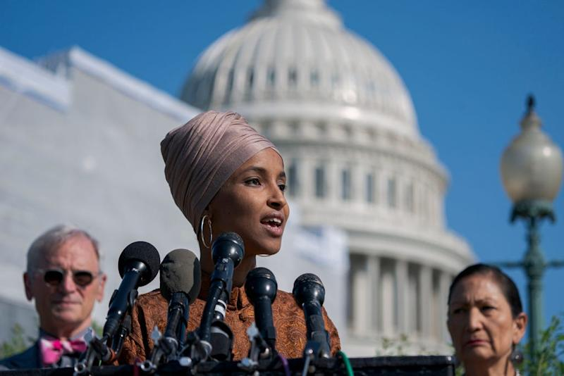Ilhan Omar: Trump admin can't be trusted on Iran if it ' lies about weather maps or crowd sizes'