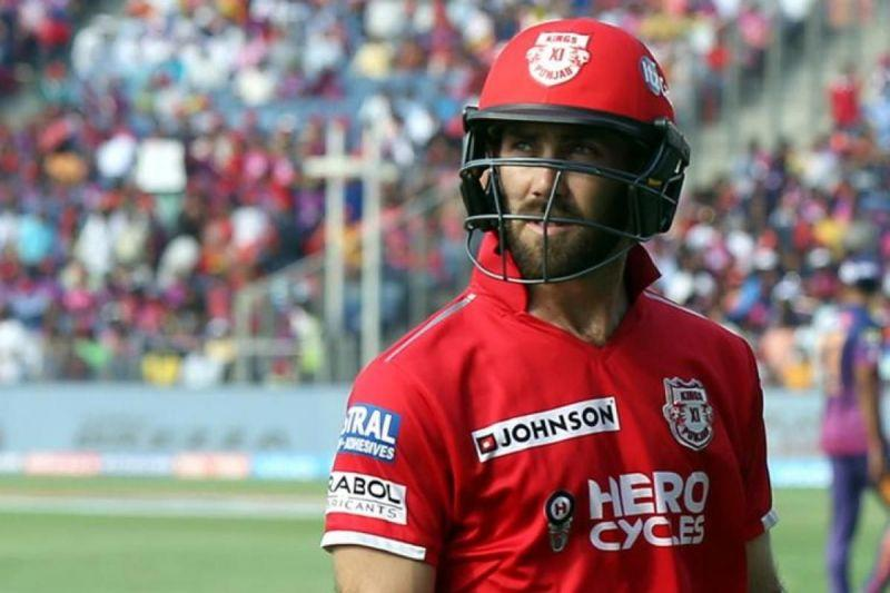 Glenn Maxwell is expected to take up the role of the enforcer in the middle order for KXIP