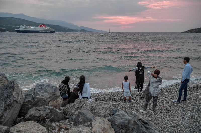 Less than two kilometres from the Turkish coast, Samos is one of a clutch of Greek islands thrust to the forefront of the 2015 migration crisis (AFP Photo/Louisa Gouliamaki)