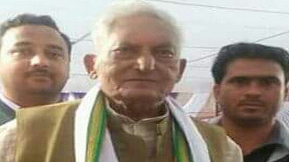 Former UP Min and Senior Cong Leader Bachcha Pathak Dies at 90