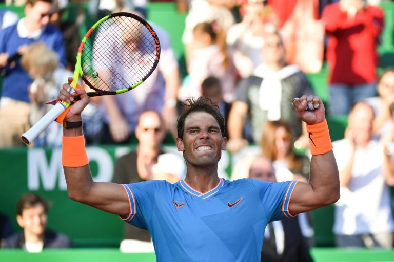 Rafael Nadal recovered from a sluggish start to reach the last four