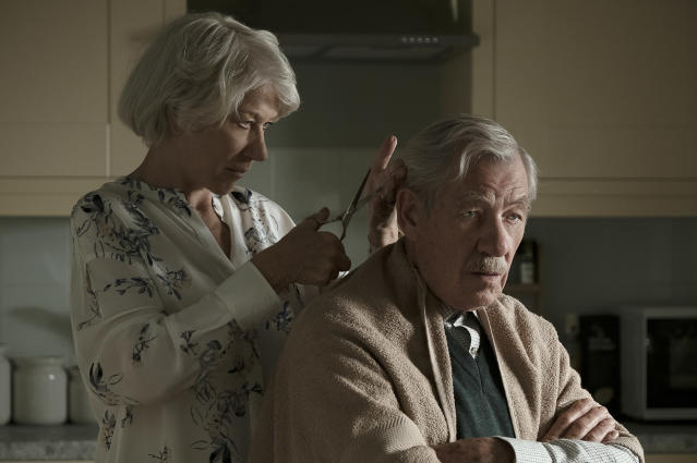 Helen Mirren and Ian McKellen in <i>The Good Liar</i>. (Warner Bros)