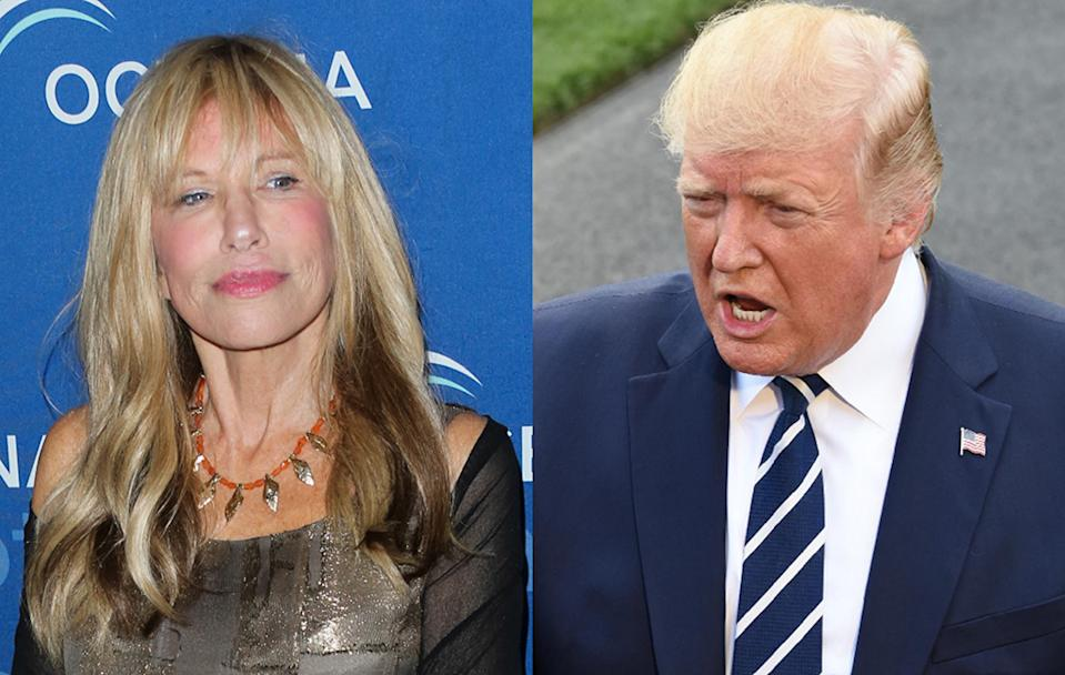 Carly Simon says she was unimpressed by Donald Trump during a past run-in. (Photos: Getty Images)