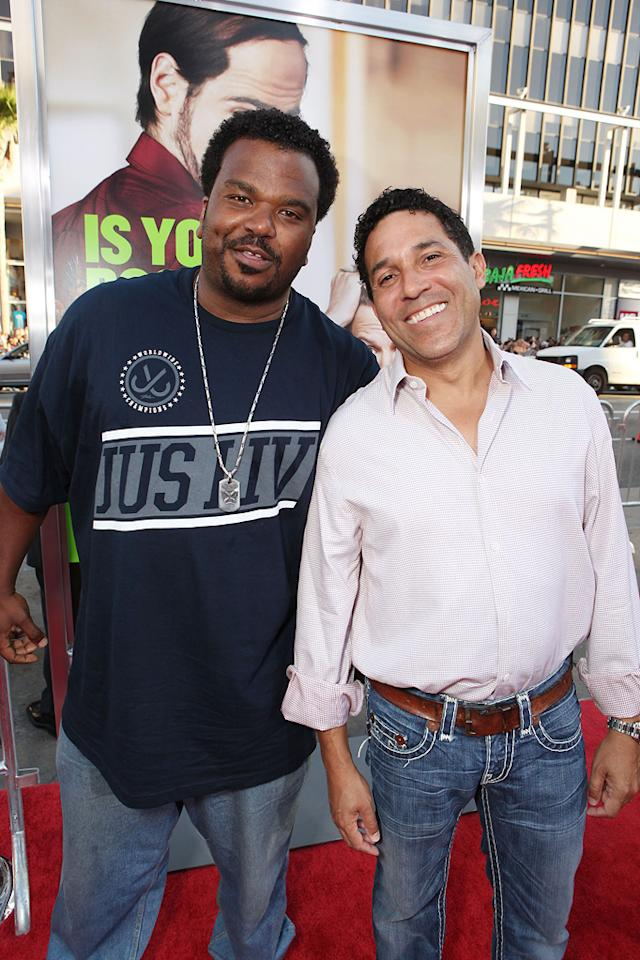 "<a href=""http://movies.yahoo.com/movie/contributor/1809113978"">Craig Robinson</a> and <a href=""http://movies.yahoo.com/movie/contributor/1804518221"">Oscar Nunez</a> at the Los Angeles premiere of <a href=""http://movies.yahoo.com/movie/1810161382/info"">Horrible Bosses</a> on June 30, 2011."