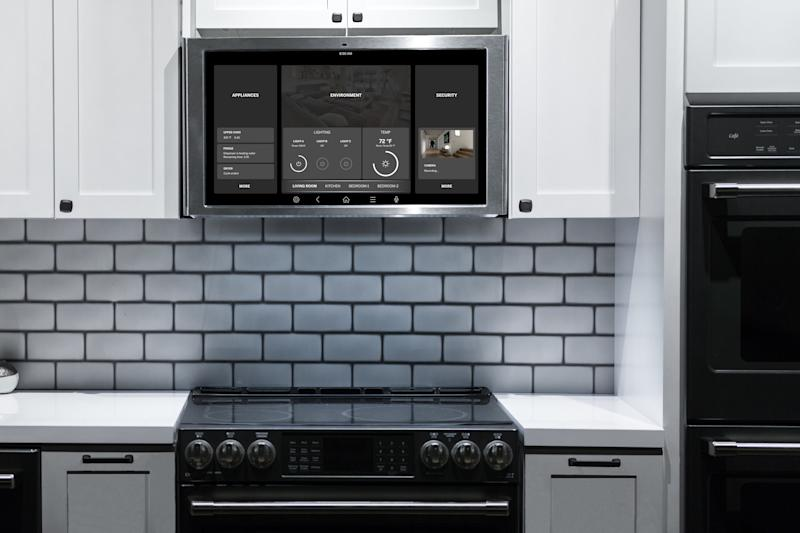 GE\'s Kitchen Hub is a smart home display right where you need it ...