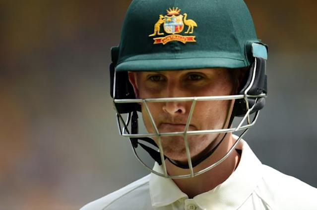 Australia batsman Nic Maddinson's withdrawal almost certainly rules him out of the opening Test against Pakistan in Brisbane later this month (AFP Photo/SAEED KHAN)