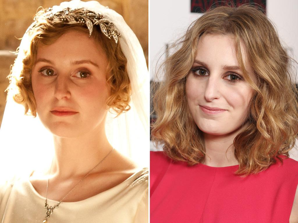 <p>Edith's revenge! The middle Crawley sister may have been jilted at the altar, but in modern times, <strong>Laura Carmichael</strong> looks like marriage material to us.</p>