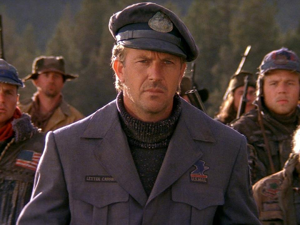Kevin Costner as the Postman.